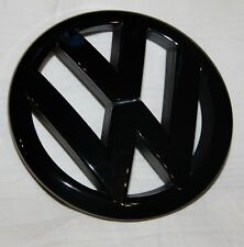 VW Golf 6, GTI  R Logo Zeichen Emblem  schwarz Hochglanz