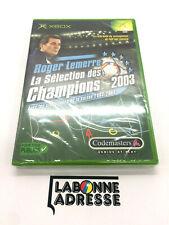 JEU VIDEO XBOX ROGER LEMERRE - LA SELECTION DES CHAMPION 2003 - NEW SEALED