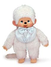 Sekiguchi Monchhichi L Size Limited Plush Doll 40th Anniversary Platinum Boy