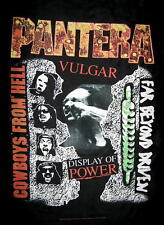 "PANTERA FLAGGE / FAHNE ""BEYOND VULGAR COWBOYS"" POSTER FLAG POSTERFLAGGE"