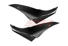 2010 Kawasaki ZX10R Under Tank Seat Side Panel Cover Fairings Twill Carbon Fiber