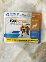 PETACTION CAPACTION Flea Treatment For Dogs 2-25 LBS 6 Tablets April 2021  #5660