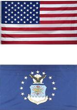 3x5 Usa American Flag Us Air Force 2 Flag Premium Set Gift Premium Banner Set