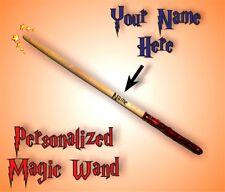 Magic Wand Harry Potter Personalized Name Unique Beautiful Gift Keepsake