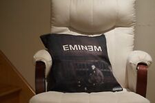 EMINEM Marshall Mathers LP Album Cover Pillow Cushion Case 17x17 Cotton Linen