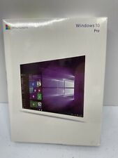 Windows 10 Pro 32/64 Bit English USB Flash Drive, New Sealed