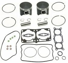 2 Dual Ring Piston Kit w/ Gasket Kit Polaris 700 Dragon RMK IQ SWITCHBACK 81mm