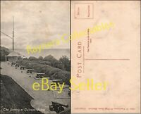 The Battery at Culzean Castle Vintage Postcard <B3/17