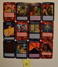 Illuminati New World Order INWO Cards Lot Of 12 1 Rare-2 Uncommon-9 Common CCG10