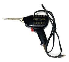 CRAFTSMAN INSTANT HEATING SOLDERING GUN Model 5367 WORKS 120V Tool Iron Welding