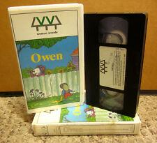 OWEN MOUSE animation Kevin Henkes VHS adaptation 1995 kids book cartoon