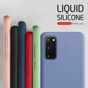 Case For Samsung Galaxy S10 S20 FE Ultra Plus 5G S10e Shockproof Silicone Cover