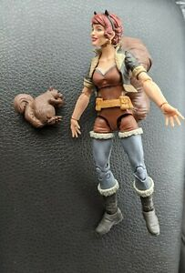 Marvel Legends Squirrel Girl And Squirrel Figure Loose Hasbro