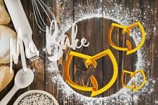 Wu tang  clan Cookie Cutter Cake Decoration Pastry Dough Biscuit
