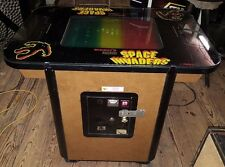 1979 SPACE INVADERS DELUXE Cocktail Arcade Game by MIDWAY 100% ORIGINAL & NICE
