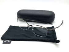 Oakley Titanium Semi Rimless Eyeglasses OX5101-0255 Wingfold 0.5 Pewter 55MM