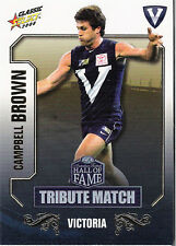 2008 Select AFL Classic HOF Tribute Match Card TM3 Campbell Brown (Hawthorn)