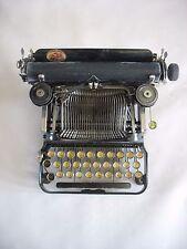 Vintage Corona # 3 Folding Typewriter with good case & litho Working condition