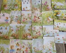 24 HUNKYDORY SECRET GARDEN TOPPERS/IMAGES FROM THE NEW LITTLE BOOKS RANGE