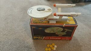 Dinky Vintage Boxed USS Enterprise