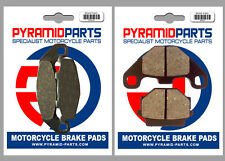 Kawasaki GPZ 500 S (Austria) 94-96 Front & Rear Brake Pads Full Set (2 Pairs)