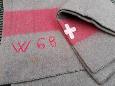 Original Wolldecke Schweizer Armee Pferdedecke Picknikdecke Campingdecke Wolle