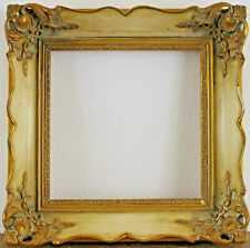Decorated Wood Frame inside Dimension Approx. 7 7/8x7 7/8in