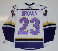 DUSTIN BROWN MANCHESTER MONARCHS AUTHENTIC RBK EDGE JERSEY 50 LOS ANGELES KINGS
