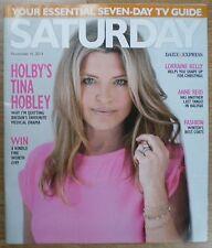 Tina Hobley – Saturday magazine– 16 November 2013
