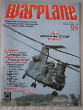 Warplane magazine Issue 95 Antonov An-12 'Cub' cutaway drawing & poster