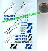 decals decalcomanie decalque  gitanes   divers  1/24 valable 1/18