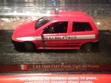 Del Prado Mundo Fuego Motores-Italia 1995 Fiat Punto Vigili del Fuoco code104)