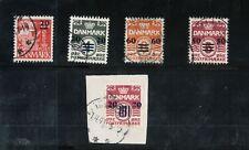 Faroe Islands #1 - #6 Very Fine Used
