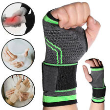 Copper Wrist Hand Brace Support Fit Carpal Tunnel Strap Sprain Splint ArthritisA