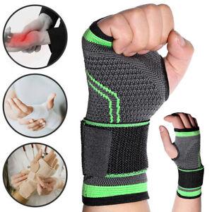 Arthritis Protection Wrist-Hand Brace Support Carpal Tunnel Splint Strap Sprain