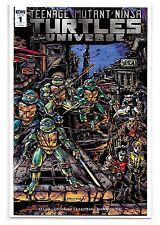 TEENAGE MUTANT NINJA TURTLES UNIVERSE #1 - Kevin Eastman Variant Cover - IDW!