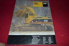 Caterpillar 5080 Front Shovel Dealer's Brochure DCPA8