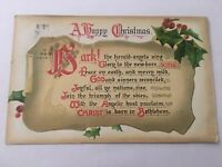 Vintage Postcard Posted 1911 A Happy Christmas