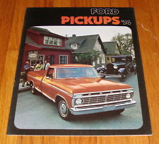 Original 1974 Ford Pickup Sales Brochure F-100 F-250 F-350 Ranger Truck