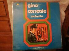 Lp Gino Correale - Malavita -Napoli disco Linea Azzurra Longplay musica popolare