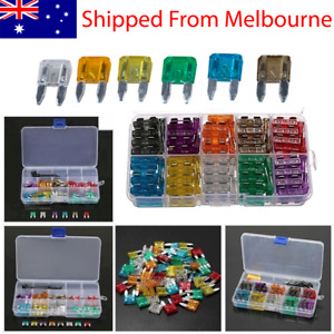 60 PCS Auto Car Truck Mini Fuse Blade Mixed Set Kit 5A 10A 15A 20A 25A 30A