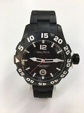 Nautica Men's Bfd 100 N20095G Black Stainless Steel Japanese Quartz Watch