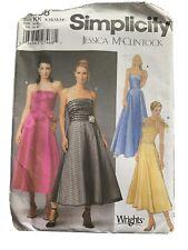 Simplicity Pattern Sizes 8-14  Prom, Bridesmaid Evening Dress New Uncut