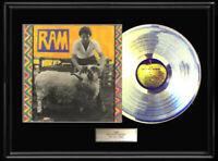 PAUL MCCARTNEY RAM  BEATLES WHITE GOLD SILVER METALIZED RECORD LP NON RIAA