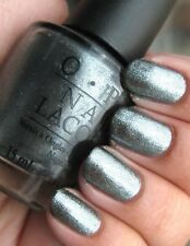 Opi Nail Lacquer Nk Z18 Lucerne Tainly Look Marvelous New Pewter Sparkle 3