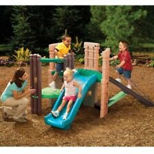 Little Tikes 2-in-1 Castle Climber and Slide imaginative Outdoor Fun Play Toy
