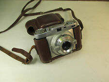 Vintage WIRGIN EDIXA 35MM Camera Manual Focus Rangefinder w/1: 2.8 Isconar Lens
