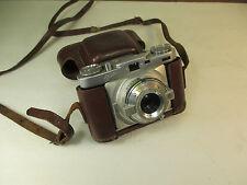 Vintage WIRGIN EDIXA 35MM Camera Manual Rangefinder w/1: 2.8 Isconar Lens VS2B