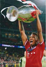 Jerome BOATENG Signed Autograph Photo AFTAL COA Bayern Munich Champions RARE