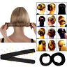 Fashion Hair Styling Donut Former Foam French Twist Magic Tool Bun Maker DIY New